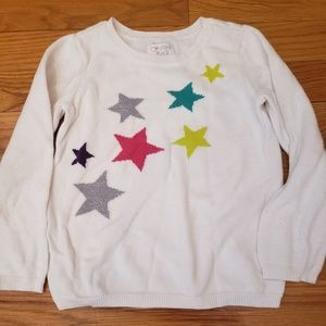 Star Sweater Sz 4T
